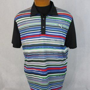 Puma Sport Lifestyle SS Golf Polo Multi Color Mult